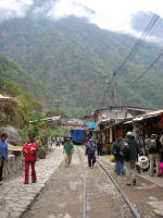 Aguas Calientes stationhigh stree