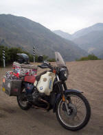 Bike in the Andes