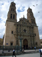 Chihuahua cathedral