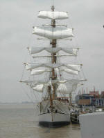 Tall ship at Guayaquil